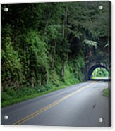 Smoky Mountain Tunnel Acrylic Print