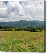 Smoky Mountains Cades Cove 1 Acrylic Print