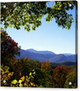 Smoky Mountains Acrylic Print by Lena Auxier