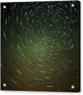 Smoky Starry Skies Acrylic Print