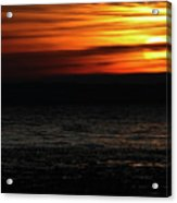 Smoky Sunrise Acrylic Print