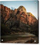 Smooth Desert River Acrylic Print