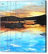 Smooth Sailing 1 Acrylic Print