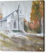 Smyth Chapel, Emory, Virginia Acrylic Print