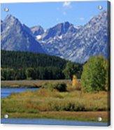 Snake River, Grand Tetons National Park Acrylic Print