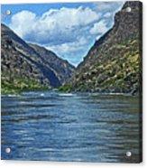 Snake River Hells Canyon Acrylic Print
