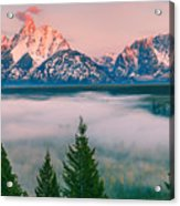 Snake River Overlook - Grand Teton National Park Acrylic Print