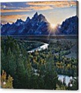 Snake River Overlook Acrylic Print