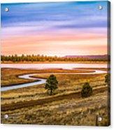 Snaking  River Acrylic Print
