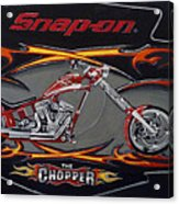 Snap-on Chopper Acrylic Print