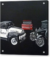 Snap-on Ford Trucks Acrylic Print