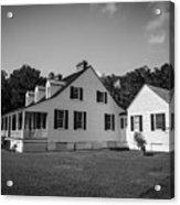 Snee Farm And Charles Pinckney Acrylic Print