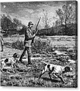 Snipe Hunters, 1886 Acrylic Print
