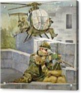 Sniper Military Tribute Acrylic Print