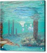 Snook Painting Acrylic Print