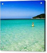 Snorkeling At Karon Beach Acrylic Print
