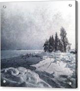 Snow And Ice  Acrylic Print
