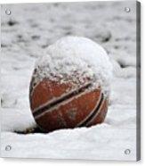 Snow Ball Acrylic Print