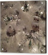 Snow Ball Gala Acrylic Print