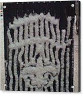 Snow Can Acrylic Print