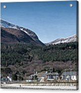 Snow Capped Mourne Mountains Acrylic Print
