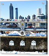 Snow Day In The A Acrylic Print