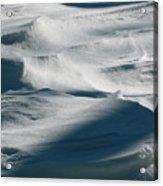 Snow Drift Acrylic Print