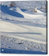 Snow Drift Acrylic Print