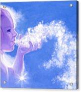 Snow Fairy  Acrylic Print