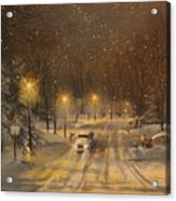 Snow For Christmas Acrylic Print