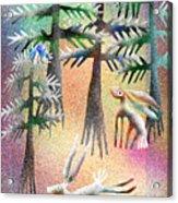 Snow Forest Acrylic Print