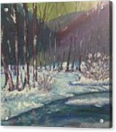 Snow Forest Acrylic Print
