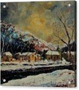 Snow In Bohan Acrylic Print