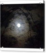 Snow Moon Acrylic Print