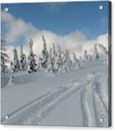 Snow Pass Bc High Country Acrylic Print