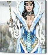 Snow Queen Acrylic Print