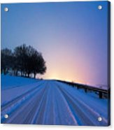 Snow Rizer Acrylic Print