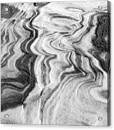 Snow Shapes Viii Acrylic Print