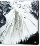 Snow Then Land Slide Acrylic Print