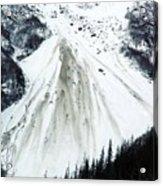 Snow Then Land Slide Acrylic Print