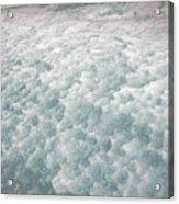 Snow Waves Acrylic Print