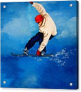 Snowboard Acrylic Print