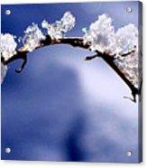 Snowbridge #5 Acrylic Print