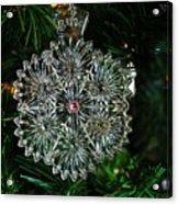 Snowcrystal Ornament 2016 Acrylic Print