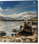 Snowdon From Llynnau Mymbyr Acrylic Print