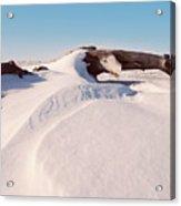 Snowdrift  Acrylic Print