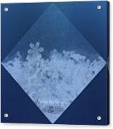 Snowflake Jewel Acrylic Print