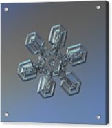Snowflake Photo - High Voltage Acrylic Print by Alexey Kljatov