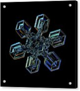 Snowflake Photo - High Voltage IIi Acrylic Print by Alexey Kljatov