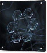 Snowflake Photo - Jewel Acrylic Print